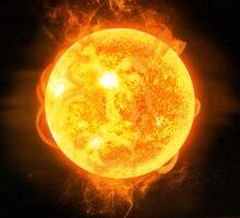 Big Bang Theory - A hot dense state Sticker