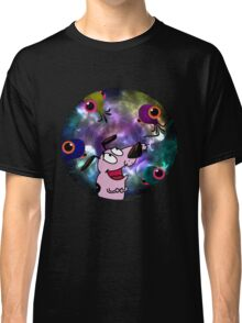 Courage Dog And The Aliens Classic T-Shirt