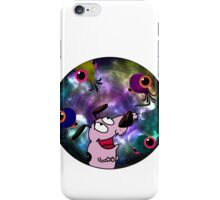 Courage Dog And The Aliens iPhone Case/Skin