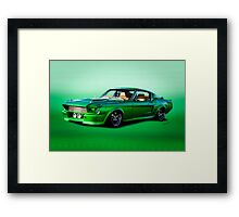 1968 Ford Mustang Fastback II Framed Print