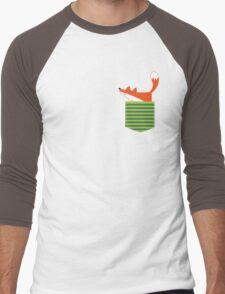 fox in my pocket Men's Baseball ¾ T-Shirt