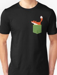 fox in my pocket Unisex T-Shirt