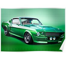 1968 Ford Mustang Fastback I Poster
