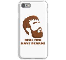 Real Men Have Beards iPhone Case/Skin