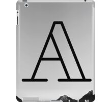 A is Travelling iPad Case/Skin