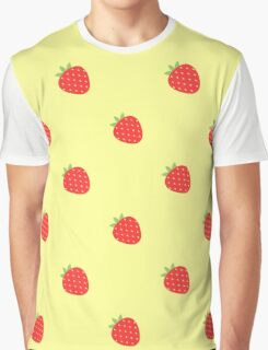 Fruit, Strawberry. Graphic T-Shirt