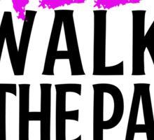 Silly Walks Sticker