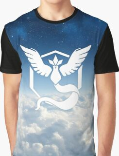 Pokemon go - Team Mystic - Articuno above the clouds Graphic T-Shirt