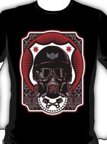 Drag Racing Helmet - Red Design T-Shirt