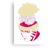Genos | Pop the top off: Yellow Canvas Print