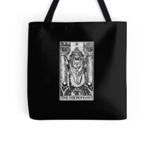 The Hierophant Tarot Card - Major Arcana - fortune telling - occult Tote Bag