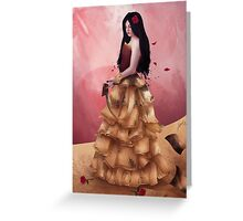 Book Queen Greeting Card