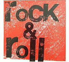Rock & Roll  Photographic Print