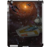 A galactic battle iPad Case/Skin