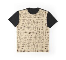 American Indians Pattern Graphic T-Shirt