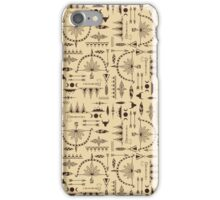 American Indians Pattern iPhone Case/Skin