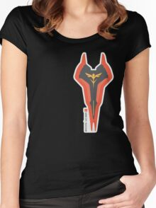Sazabi Shield Women's Fitted Scoop T-Shirt
