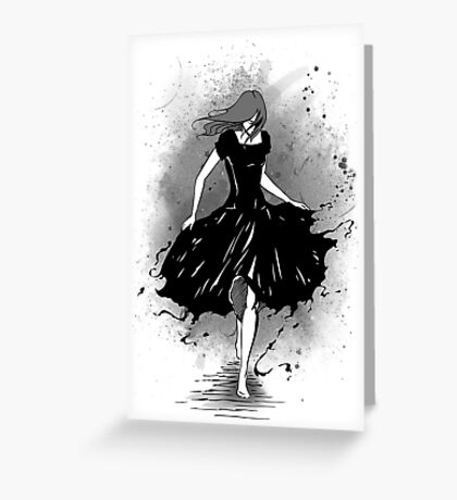 Escape the Ink Greeting Card