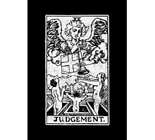 Judgment Tarot Card - Major Arcana - fortune telling - occult - Judgement Photographic Print