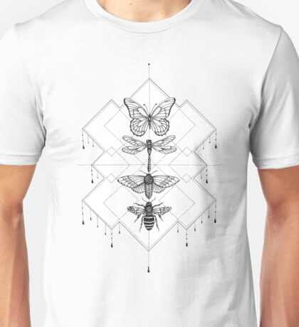 Flying Insects Unisex T-Shirt