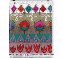 the rhyme of repetitive elements - fire, water, earth, air iPad Case/Skin