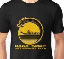 Naga Spirit Logo Yellow Large Unisex T-Shirt