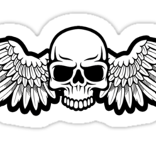 Imperial Skull and Wings MkII Sticker