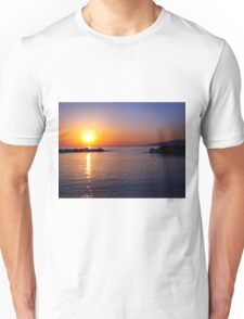 Sunrise Island of Crete  Unisex T-Shirt