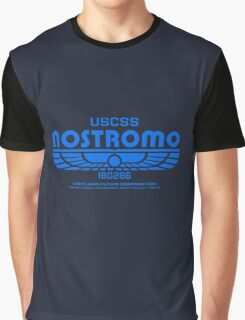 Nostromo - Alien - Prometheus (Clean non-distressed) Graphic T-Shirt
