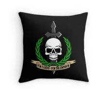 For Tanith - For The Emperor!  Throw Pillow