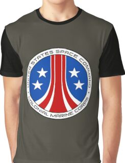 United States Colonial Marine Corps Insignia - Aliens Graphic T-Shirt