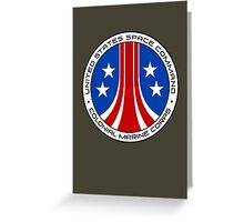 United States Colonial Marine Corps Insignia - Aliens Greeting Card