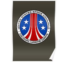 United States Colonial Marine Corps Insignia - Aliens Poster