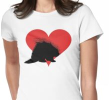 Porcupine Womens Fitted T-Shirt