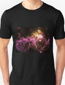 Cosmis Clouds - Abstract Fractal Artwork Unisex T-Shirt