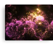 Cosmis Clouds - Abstract Fractal Artwork Canvas Print