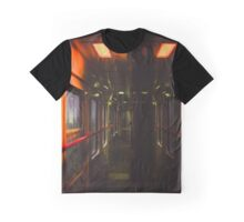 Late Train Ride Graphic T-Shirt