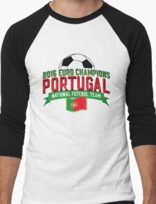 2016 Euro Champions Portugal Men's Baseball ¾ T-Shirt