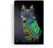 Dynamic Owl Canvas Print