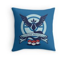 Team Mystic Throw Pillow