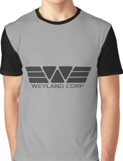 Weyland Corp logo - Alien - Grey Graphic T-Shirt
