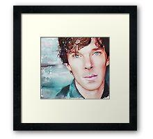 Benedict Cumberbatch Artwork Design 3  Framed Print