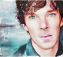 Benedict Cumberbatch Artwork Design 3  Photographic Print