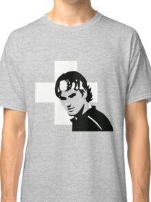 Roger Federer  - Transparent (Official Genius Banner Design) Classic T-Shirt