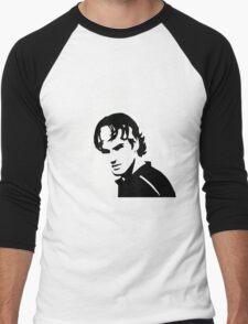 Roger Federer  - Transparent (Official Genius Banner Design) Men's Baseball ¾ T-Shirt