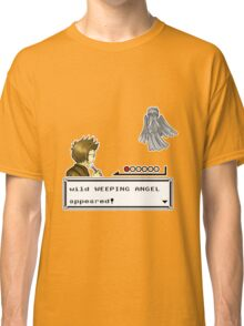 Weeping Angel Appeared! Classic T-Shirt