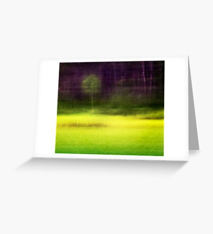 Mitchell Park ~ the impressionist's view II Greeting Card