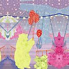 A Festival of Bears by KatArtDesigns