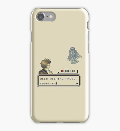 Weeping Angel Appeared! iPhone Case/Skin
