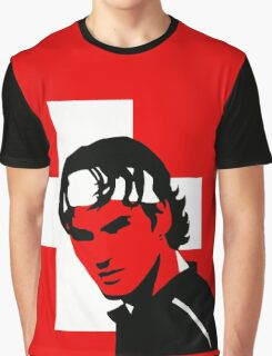 Roger Federer  - Transparent (Official Genius Banner Design) Graphic T-Shirt